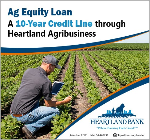 Ag Equity Loan - A 10-Year Credit Line Through Heartland Agribusiness
