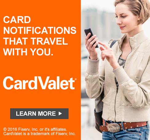 Card Valet: Card Notifications that Travel with You.