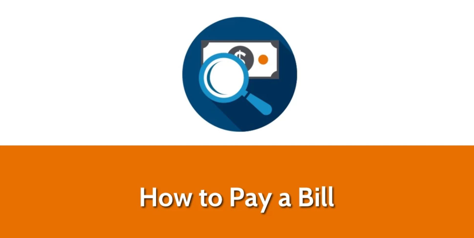 Pay a Bill