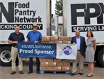 Ohio Association of Foodbanks Receives Pork Donation from Hartford Fair Youth
