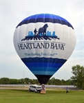 Up, Up and Away With Heartland Bank's Hot Air Balloon