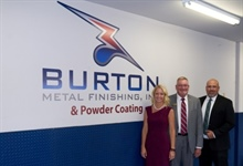 Special Visitors to Burton Metal Finishing