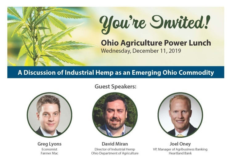 You're Invited: Ohio Agriculture Update RSVP today www.Heartland.Bank/AgClient
