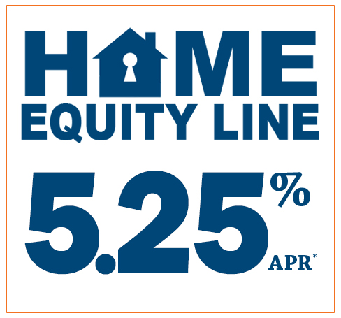 Home Equity Line 5.25% APR*