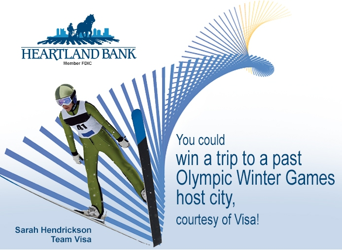 You could win a trip to a past Olympic Winter Games host city, courtesy of Visa!