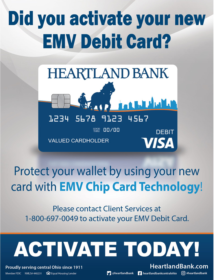 Debit Card Update