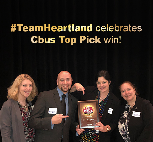 #TeamHeartland celebrates Cbus Top Pick win!