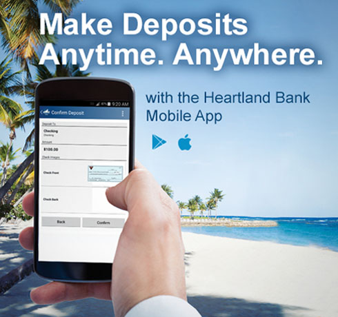 Heartland Bank > PERSONAL > Online Banking > Text Banking